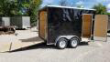 FOR RENT ONLY #5 7X12 TANDEM INTERSTATE CARGO TRAILER STOCK# RENTAL #5