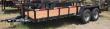 "2020 TEXAS BRAGG TRAILERS 18 FT X 82"" BIG PIPE TRAILER"