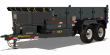 2021 BIG TEX TRAILERS 10LX 83 X 12 DUMP TRAILER