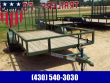 2019 LOAD TRAIL SE03 - SINGLE AXLE 77 X 12 UTILITY TRAILER