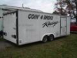 24' EXTENDED HEIGTH ENCLOSED RACE CAR TRAILER