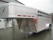 2019 FEATHERLITE 8127 7' X 20' GN ALUM. STOCK TRAILER