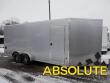 7X18 E-Z HAULER SNOWMOBILE TRAILER - 6' INTERIOR HEIGHT