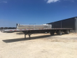 2019 FONTAINE 53X102 COMBO - REAR AXLE SLIDE FLATBED TRAILER, FLAT DECK TRAILER