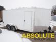 7X16 E-Z HAULER SNOWMOBILE TRAILER - 7' INTERIOR HEIGHT