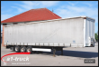 KRONE TARP SEMI-TRAILER TAUTLINER, CODE XL, LIFTACHSE 3 AXLES