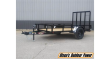 2021 H&H 66X10 RS STEEL UTILITY TRAILER