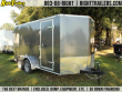 7X14 CONTINENTAL CARGO | ENCLOSED TRAILER [CHARCOAL]