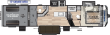 2019 KEYSTONE RV 367 TOY HAULER