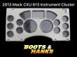 MACK CXU613 GUAGE