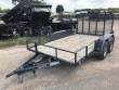 2019 X-ON TRAILERS | 7X12 | TANDEM AXLE UTILITY | GRAY