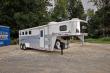 2005 EXISS ES407ELQ 4 HORSE SLANT LOAD W/7FT. LIVING QUARTER
