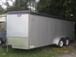 UTILITY TRAILER 7'X18' ENCLOSED