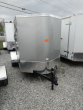 2021 CONTINENTAL CARGO NS58SA, 5X8 FT. ENCLOSED TRAILER, SINGLE AXLE, 2.9K RATED