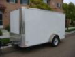 2010 6 X 12 SINGLE AXLE CARGO TRAILER