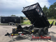 90SR-10BKBK7SIR BIG TEX 10' DUMP TRAILER W/ 7' SLIDE