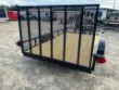 DOWN 2 EARTH TRAILERS 76X12UT UTILITY TRAILER FLAT DECK STOCK# DTE7612FF29-81973