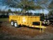 6 X 12 LOW-PRO DUMP TRAILER 10K GVWR CAT YELLOW