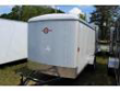 2018 CARRY-ON 6X12 WHITE CARRY-ON FLAT NOSE TRAILER CARGO / ENCLOSED TRAILER