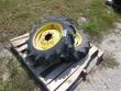 GOODYEAR POWER TORQUE 7.2X16 BAR TIRES ON JD 6 BOLT WHEELS