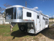 2002 EXISS TRAILERS 4 HORSE WITH MIDTACK WEEKENDER HORSE TRAILER