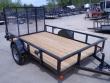 2020 P&T TRAILERS SINGLE AXLE A-FRAME