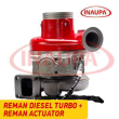 REBUILT 4309076RX CUMMINS ISX HE500VG/HE561VE TURBO DIESEL – + CORE DEPOSIT – REMANUFACTURED CALIBRATED ACTUATOR INCLUDED