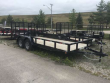 2018 QUALITY 82 X 18 LANDSCAPE TRAILER 7000# DOVE TAIL 4500# RAMP