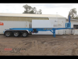 2000 BARKER 40FT TIPPING SKEL SEMI TRAILER WITH CONTAINER PINS