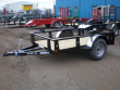 2021 RICE 5X8 UTILITY TRAILER - NO RAMP