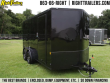 7X14 CONTINENTAL CARGO   ENCLOSED TRAILER ( BLACK OUT PACKAGE )
