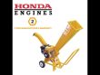 CROMMELINS WOOD CHIPPER HONDA PETROL ENGINE GTS600 CHIP