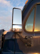 FREIGHTLINER CASCADIA 125 LEFT SIDE VIEW MIRROR