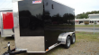 "2020 PACE AMERICAN 6X12 JV SE TE2 24""VS 6""X SVNT BLACK ENCLOSED CARGO TRAILER"