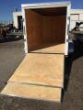 2020 CW 6' X 12' X 6.6' VNOSE TANDEM ENCLOSED TRAILER RAMP DOOR STOCK# 58106