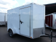 2019 CONTINENTAL CARGO 6 X 10 3K RAMP TALL V-SERIES WHITE