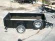 5X10 HIGH SIDES ATV LAWNMOWER UTILITY TRAILER W BRAKES