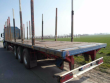 ACKERMANN-FRUEHAUF - PS 24/13,5E PLATTFORMAUFLIEGER - LOG TRANSPORT