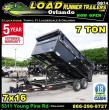2019 LOAD RUNNER DUMP TRAILER D83-16T7-48S