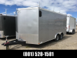 8.5X16 SILVER HAULMARK TRANSPORT CARGO WITH CONTRACTOR PACKAGE