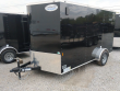 2021 CONTINENTAL CARGO NS712SA, 7X12 FT. ENCLOSED TRAILER, SINGLE AXLE, 3.5K RATED