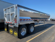 2021 MAC TRAILER MFG MAC 35' HALF ROUND FRAMELESS ALUMINUM END DUMP,AIR DUMP TRAILER, END DUMP TRAILER