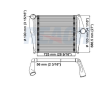 KENWORTH T600A CHARGE AIR COOLERS