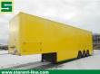 CLOSED BOX SEMI-TRAILER GRAY & ADAMS MOTORSPORT/DOUBLEDECK LIFT