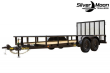 2021 BIG TEX TRAILERS 70PI-20 UTILITY TRAILER W/GATE