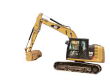 """CAT EXCAVATOR E & F SERIES UPPER 1/2"""" POLYCARBONATE WINDSHIELD REPLACEMENT"""