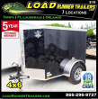 2019 LOAD RUNNER ENCLOSED CARGO TRAILER EV4-6S3-D
