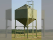 HEAVYBILT 25 TON SINGLE CONE BIN
