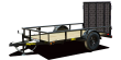 2021 BIG TEX TRAILERS 30SA-10 UTILITY TRAILER