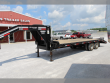 2017 GOLDEN BY CORN PRO 25' FLATBED TRAILER